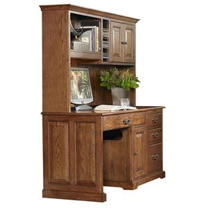 Riverside Furniture Cantata 58-Inch Computer Desk and Hutch
