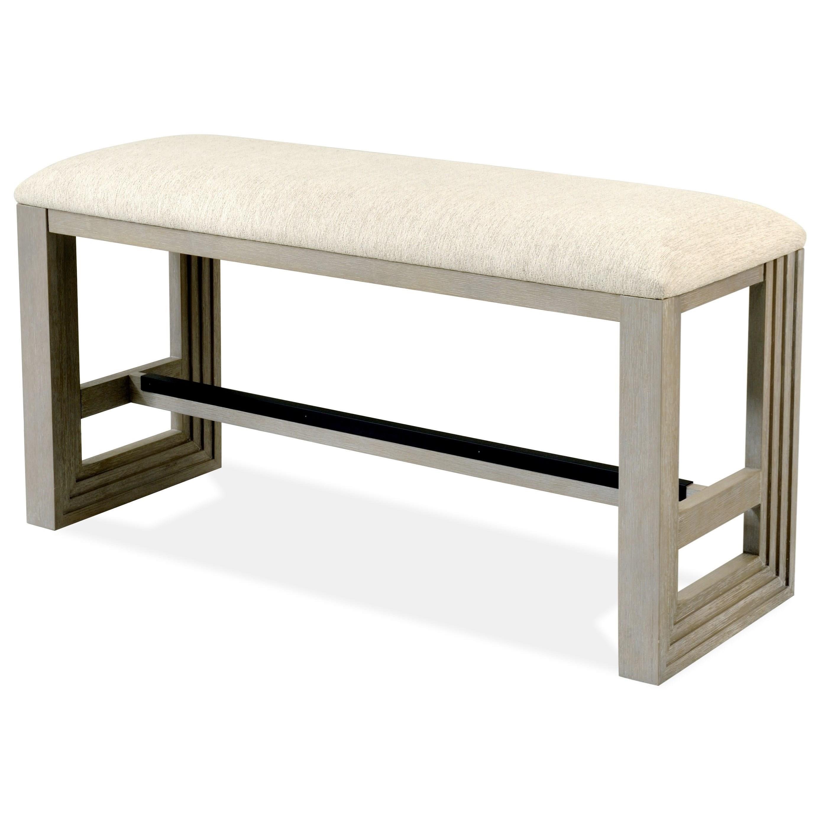 Cassandra Cassandra Counter Bench by Riverside Furniture at Morris Home