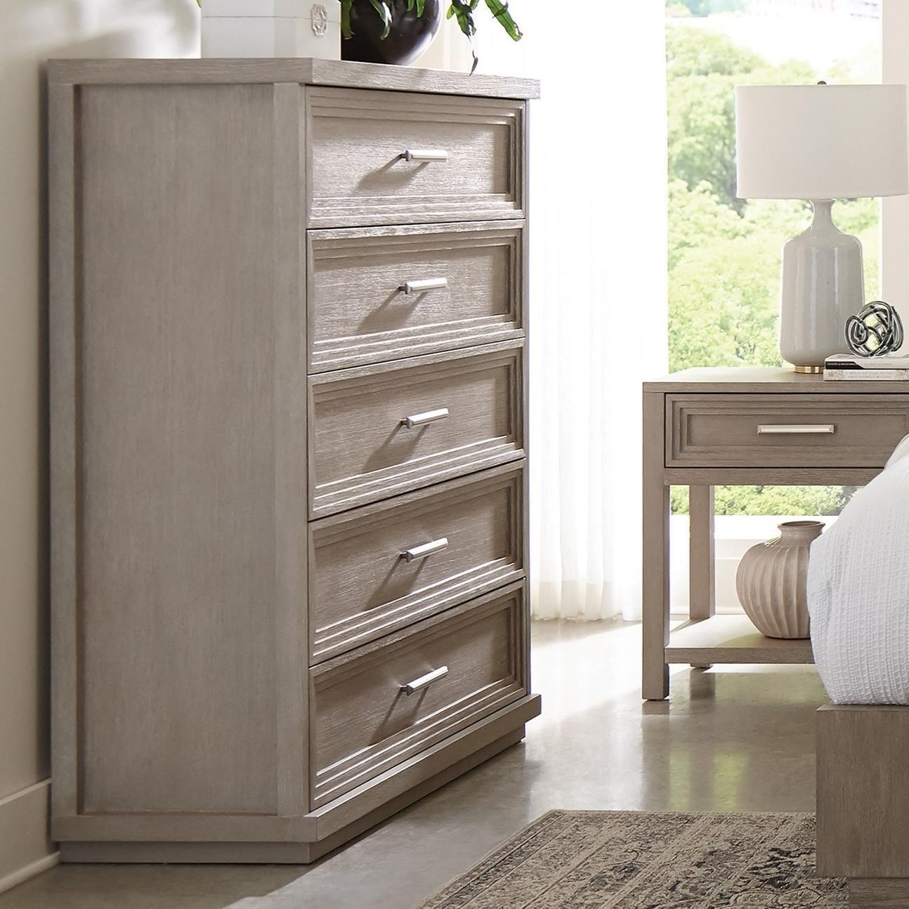 Cascade 5-Drawer Chest by Riverside Furniture at Darvin Furniture