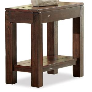 Riverside Furniture Castlewood Chairside Table