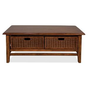Riverside Furniture Claremont  Rectangular Cocktail Table