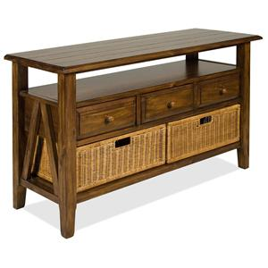 Riverside Furniture Claremont  Console Table
