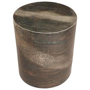 Contemporary Metal Spot Table