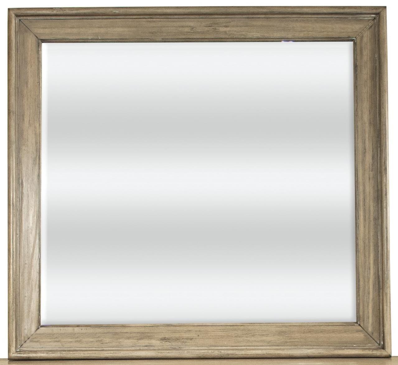Corinne Landscape Mirror by Riverside Furniture at Zak's Home