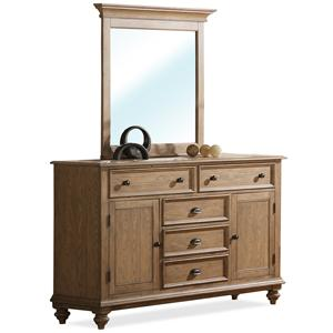 Riverside Furniture Coventry Dresser & Mirror