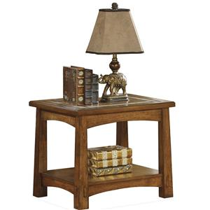 Riverside Furniture Craftsman Home Side Table