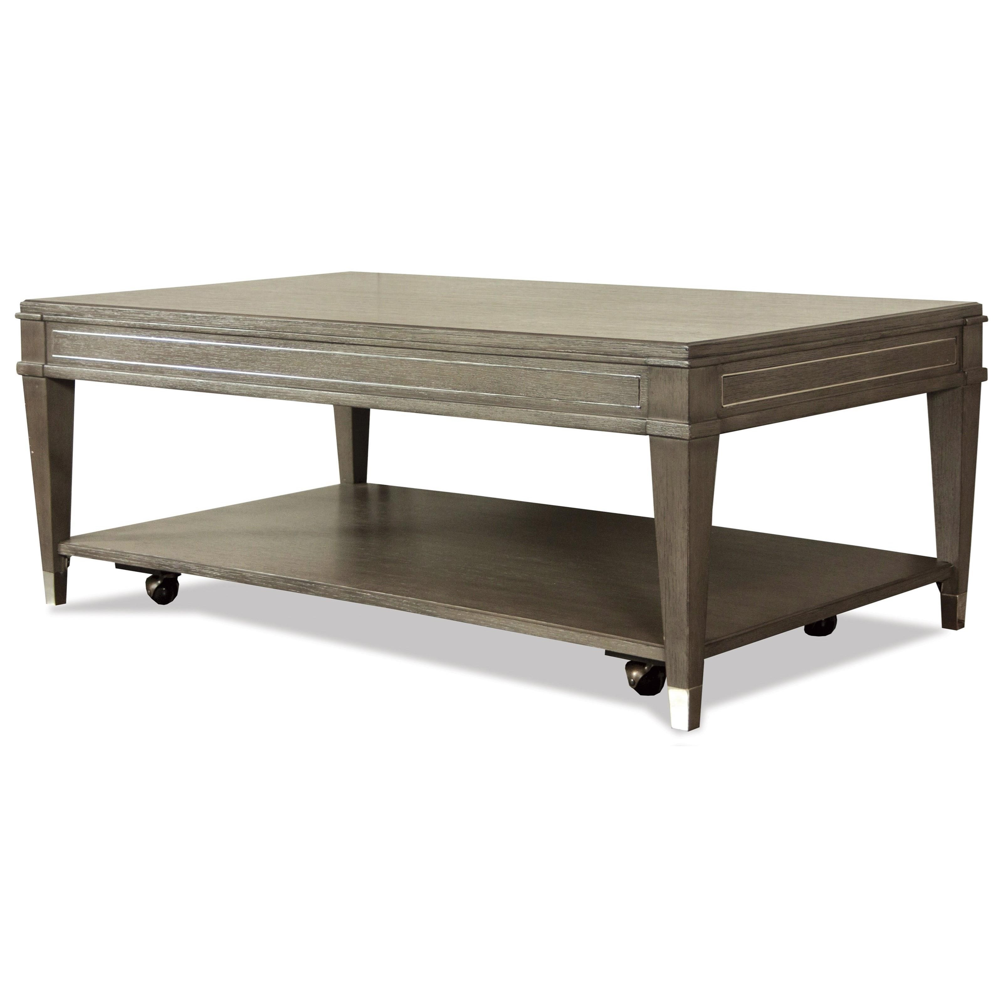 Dara II Rectangle Cocktail Table by Riverside Furniture at Mueller Furniture