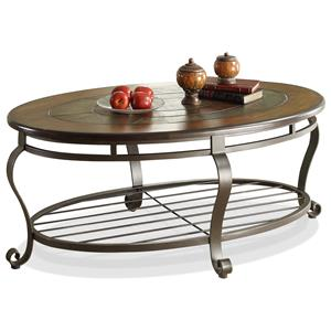 Riverside Furniture Eastview Oval Coffee Table