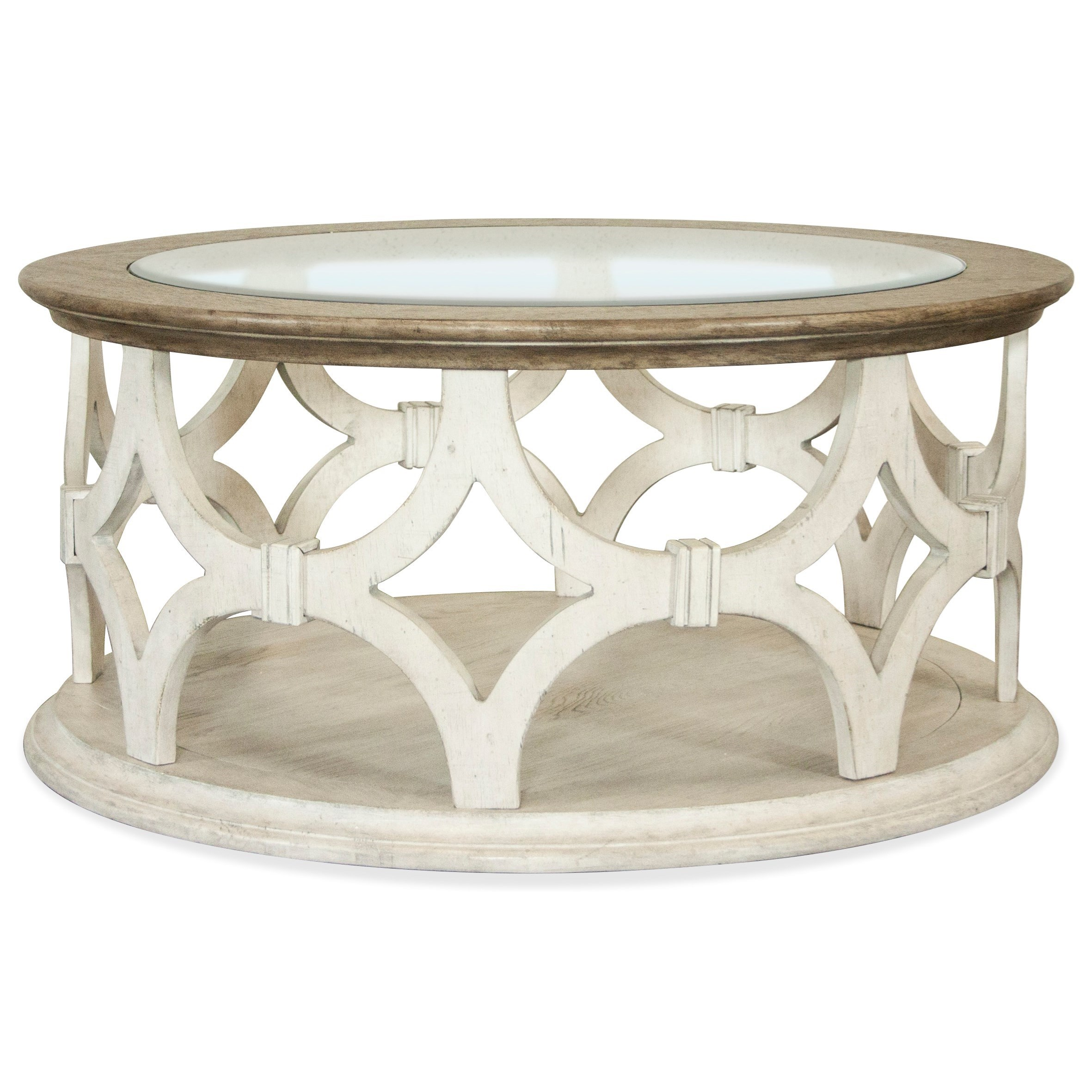 Elizabeth Round Coffee Table by Riverside Furniture at Darvin Furniture