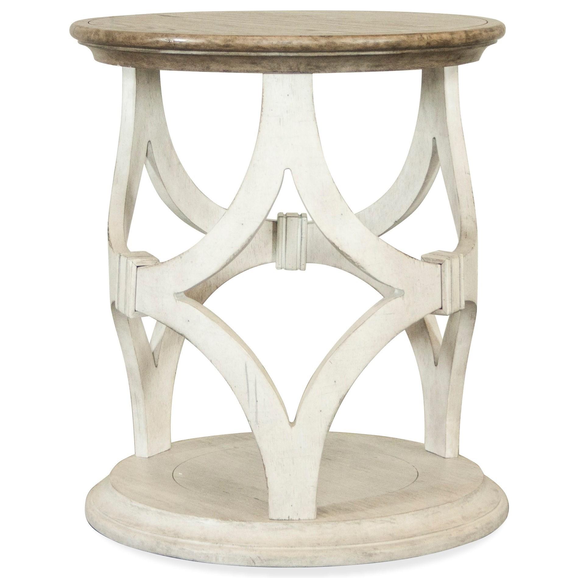Elizabeth Round Side Table by Riverside Furniture at Darvin Furniture