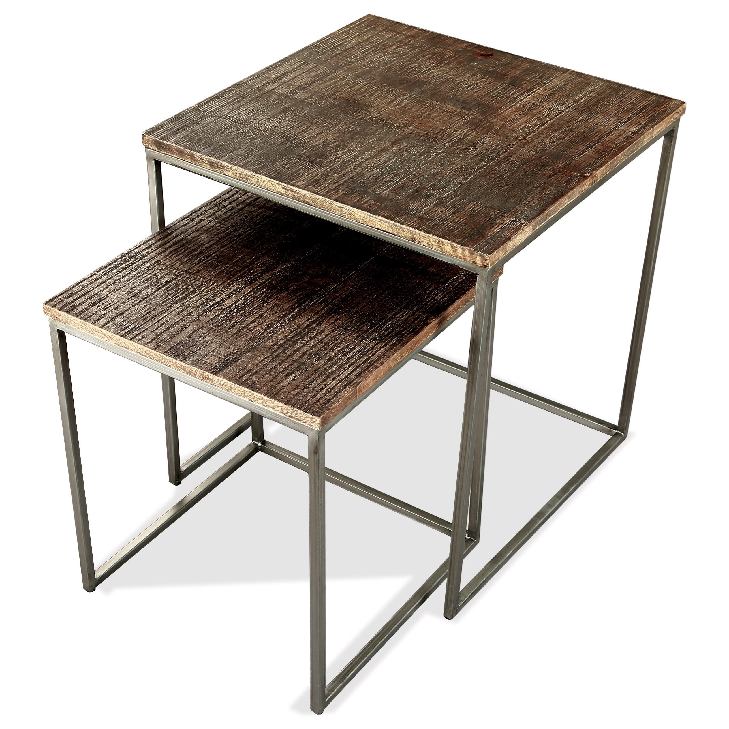 Fusion Nesting End Table by Riverside Furniture at Zak's Home