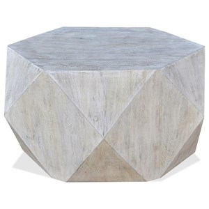 Contemporary Geometric Cocktail Table