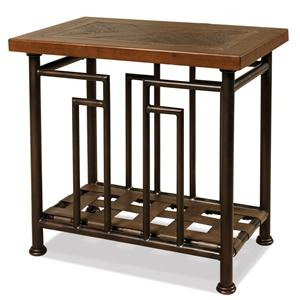 Riverside Furniture Granville Chairside Table