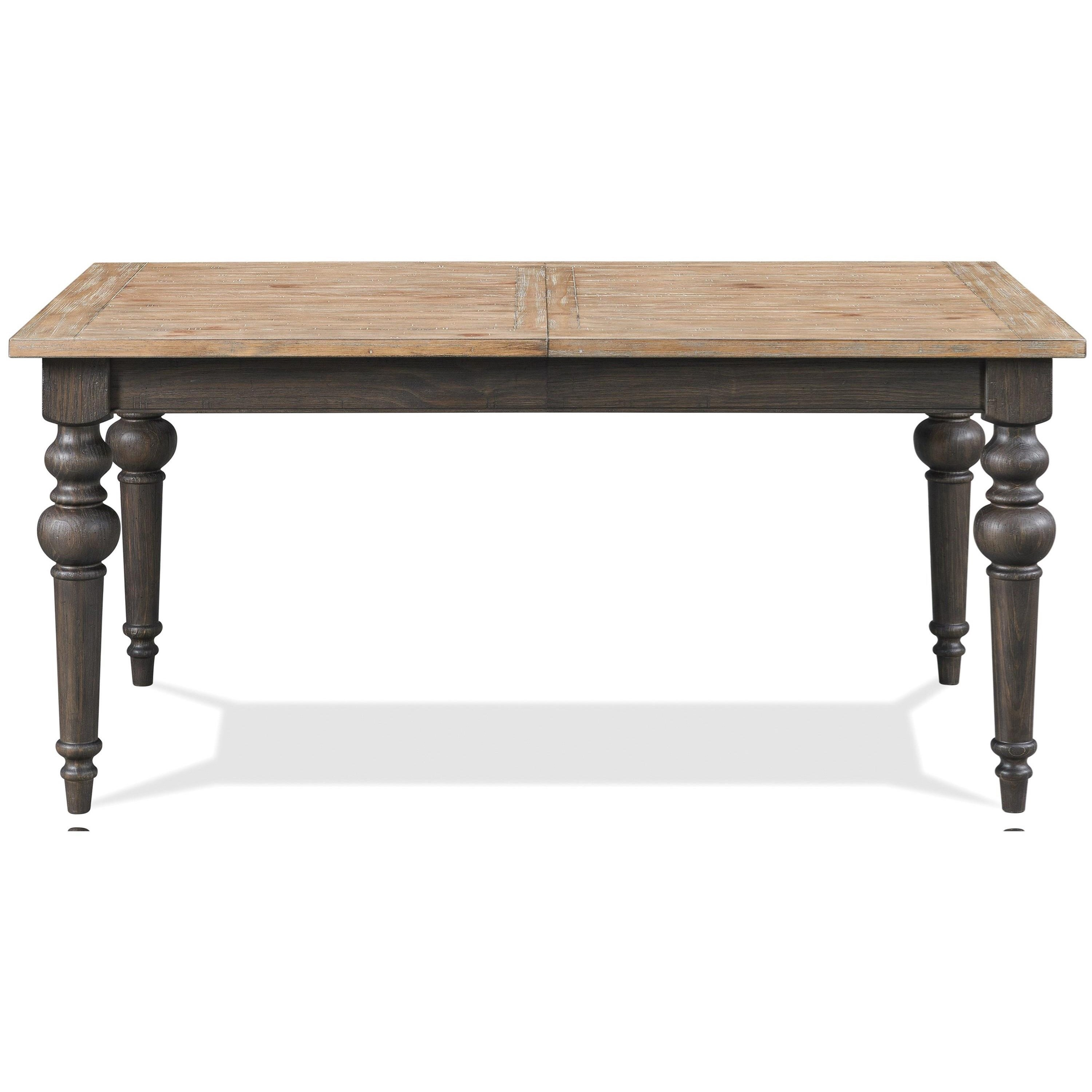 Harper Rectangle Dining Table by Riverside Furniture at Zak's Home