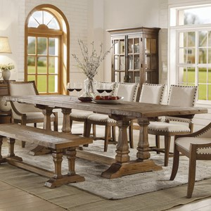 Solid Wood Rectangular Dining Table