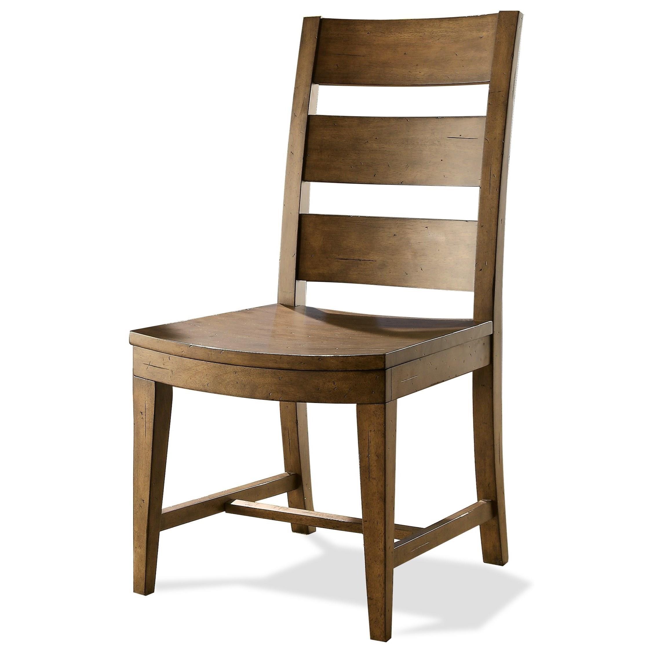 Hawthorne Slack Back Side Chair by Riverside Furniture at Zak's Home