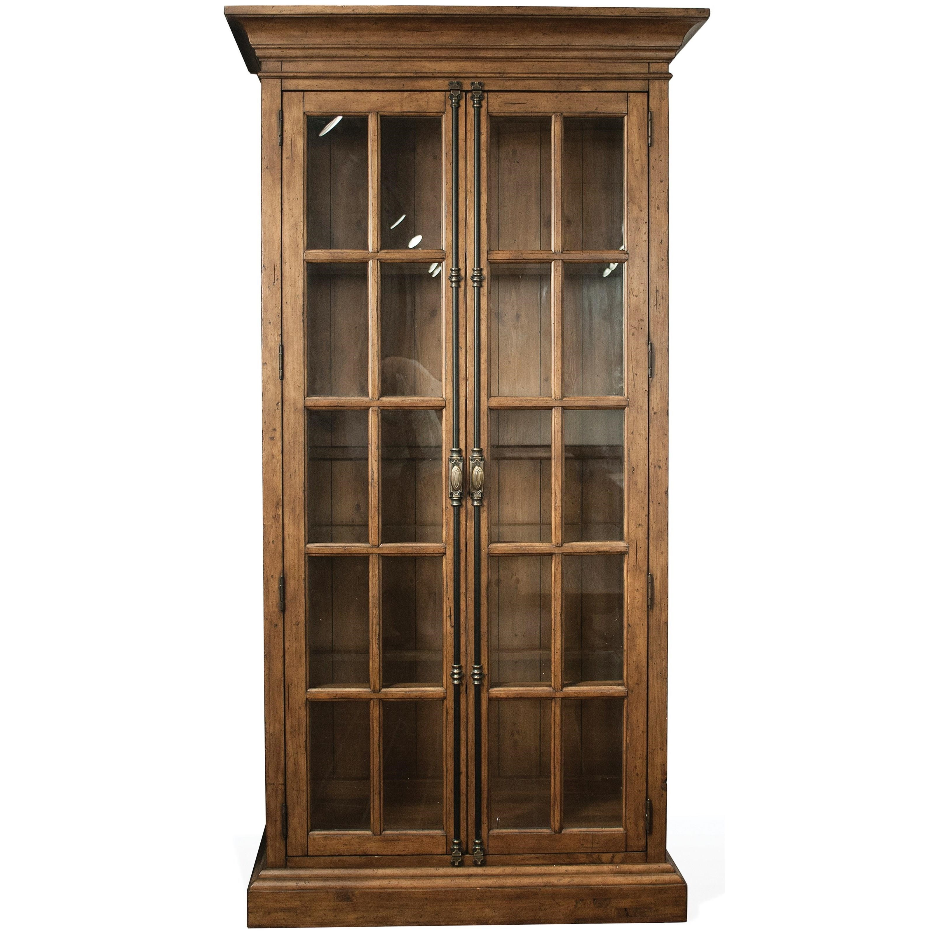 Hawthorne Display Cabinet by Riverside Furniture at Zak's Home