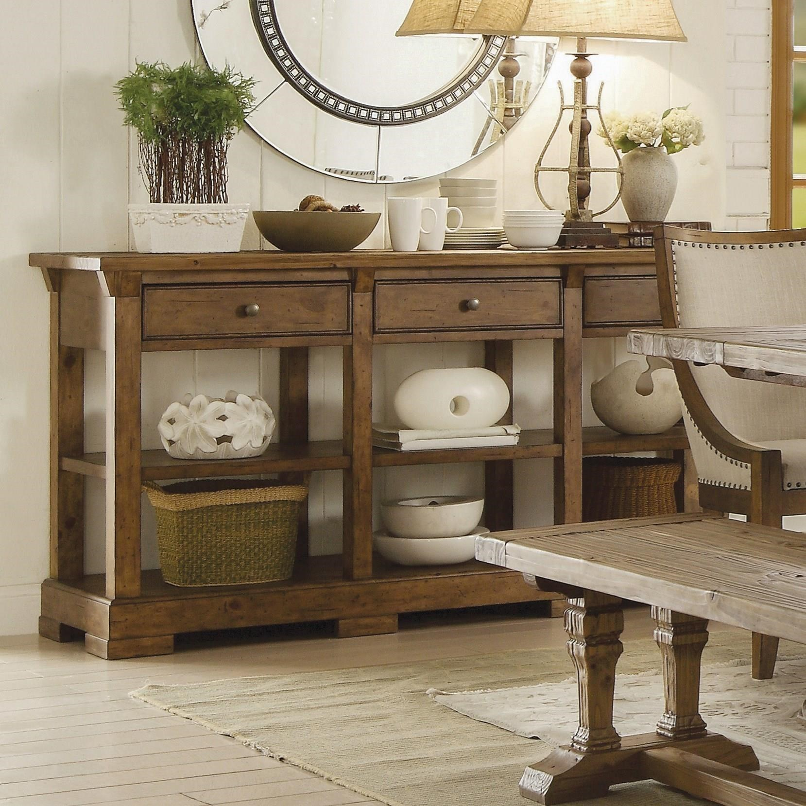 Hawthorne Buffet by Riverside Furniture at Stuckey Furniture
