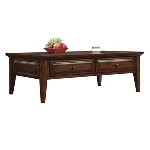 Riverside Furniture Hilborne 2 Drawer Coffee Table