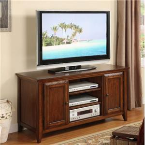 """Riverside Furniture Hilborne 52"""" TV Console"""