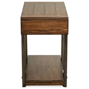 Urban Rustic 1 Drawer Chairside Table