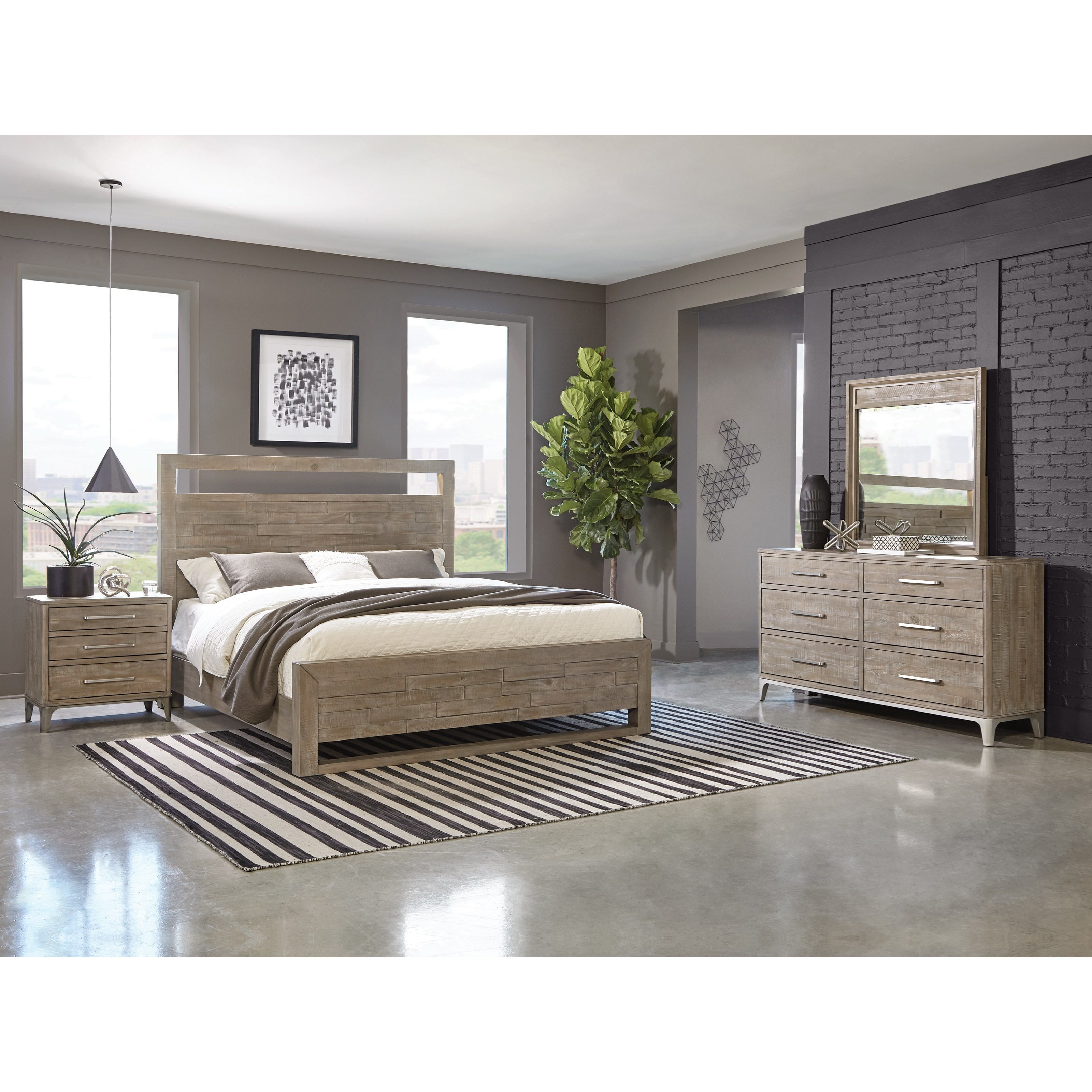 Intrigue Queen Bedroom Group  by Riverside Furniture at Zak's Home