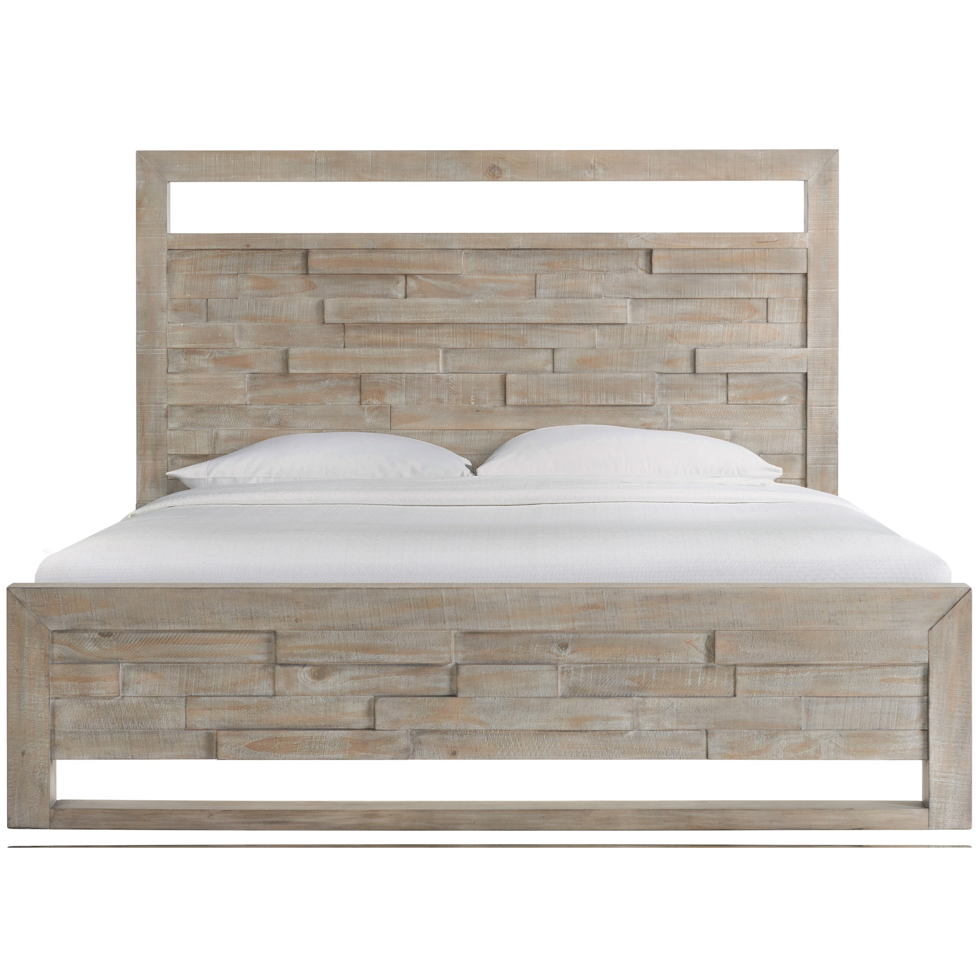 Intrigue King Low Profile Bed by Riverside Furniture at Mueller Furniture