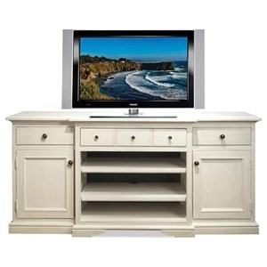 TV Console with Adjustable Shelving