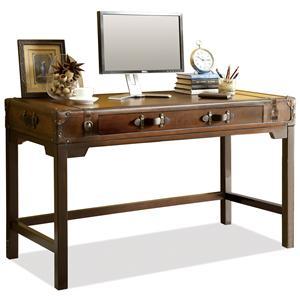 Riverside Furniture Latitudes Suitcase Writing Desk