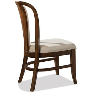 Riverside Furniture Lawrenceville Bow Back Side Chair