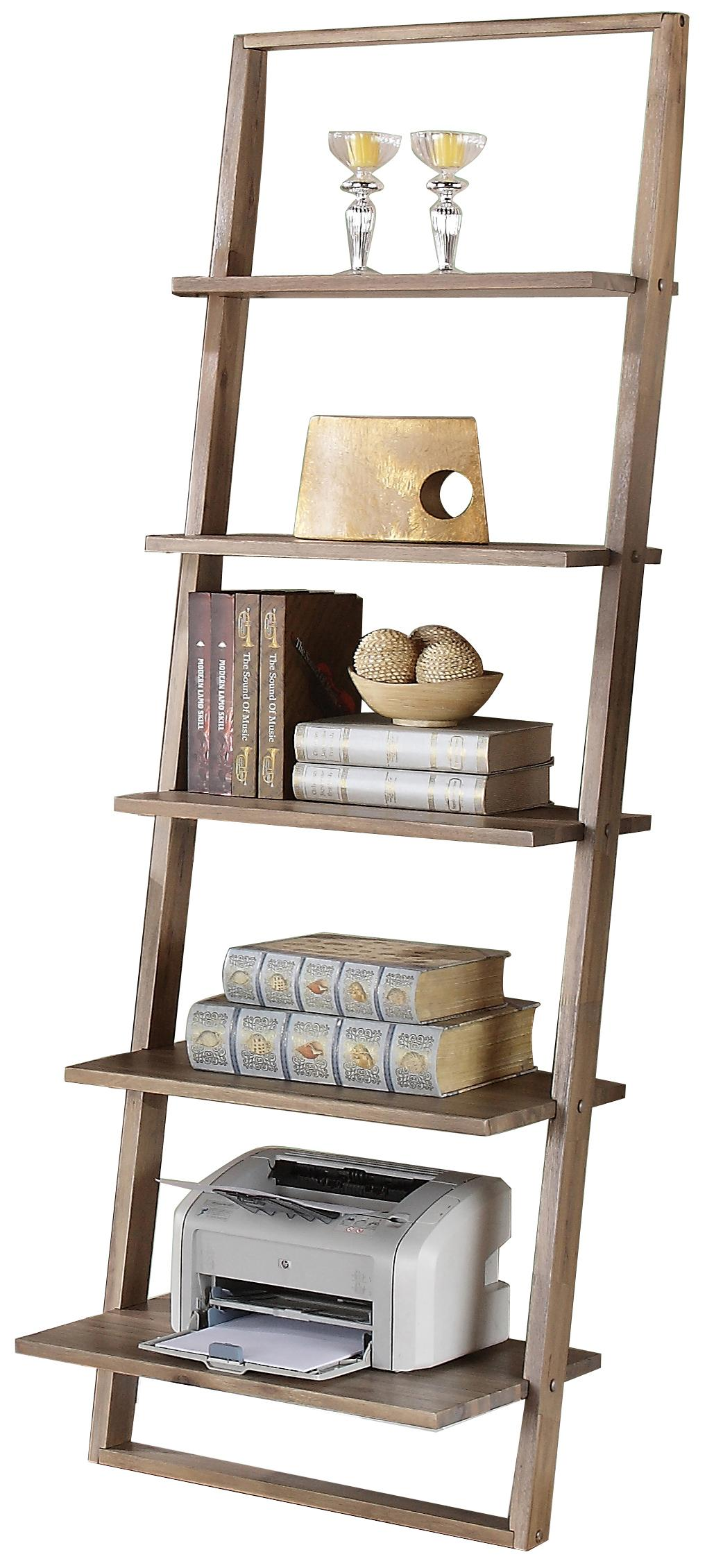 Lean Living Leaning Bookcase by Riverside Furniture at Mueller Furniture
