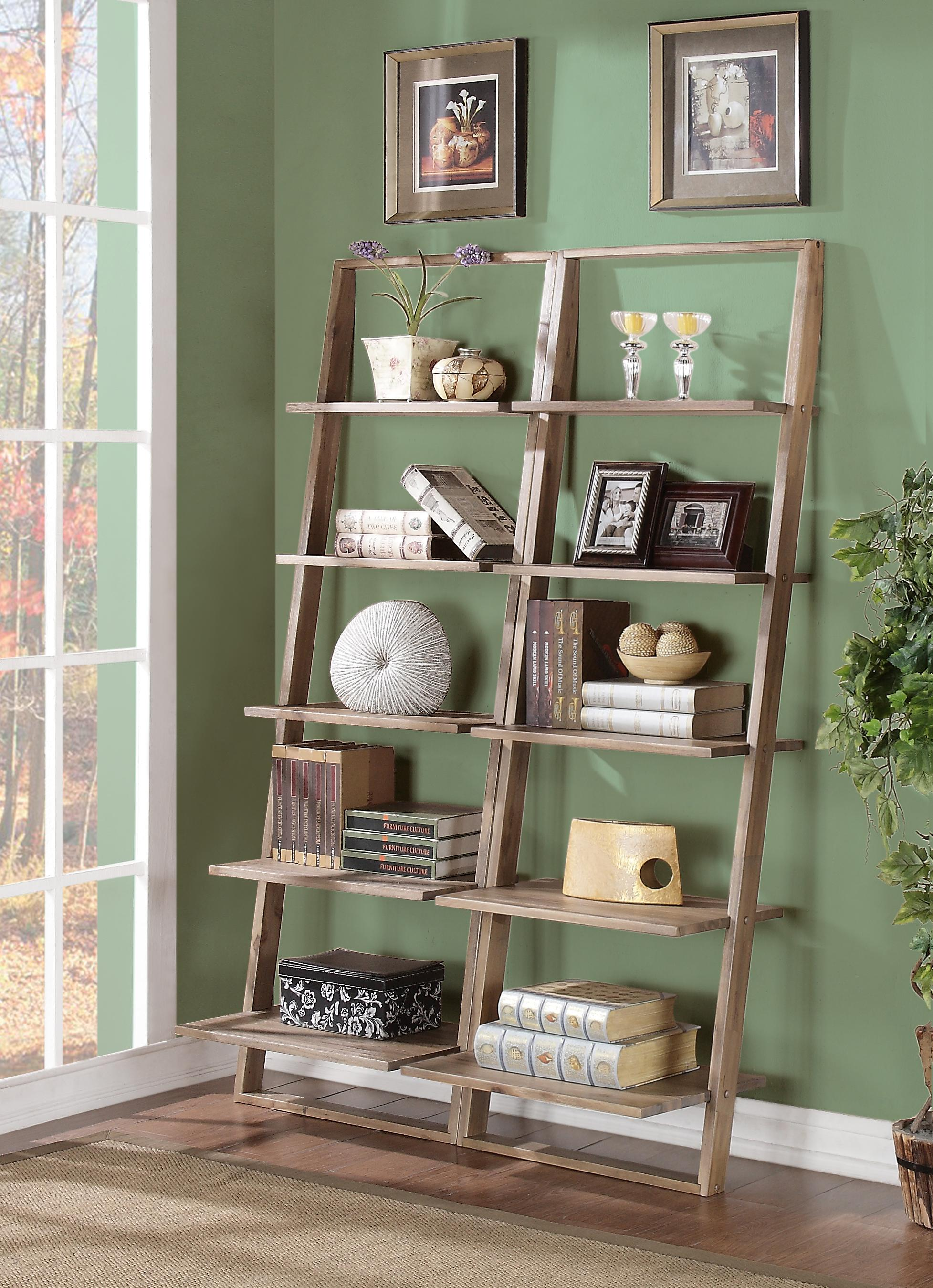 Lean Living Leaning Bookcase Set by Riverside Furniture at Mueller Furniture