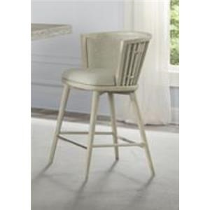 Upholstered Windsor Counter Stool