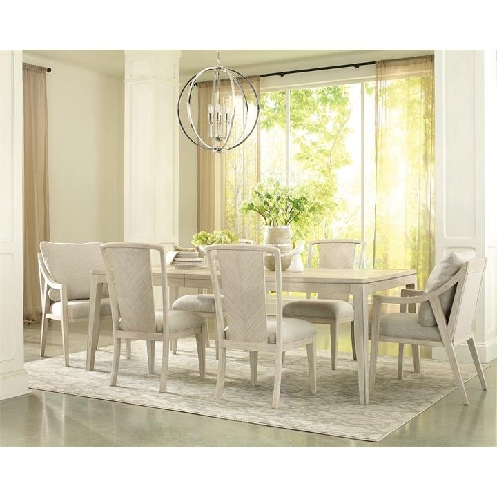 Lilly 7-Piece Table and Chair Set by Riverside Furniture at Baer's Furniture