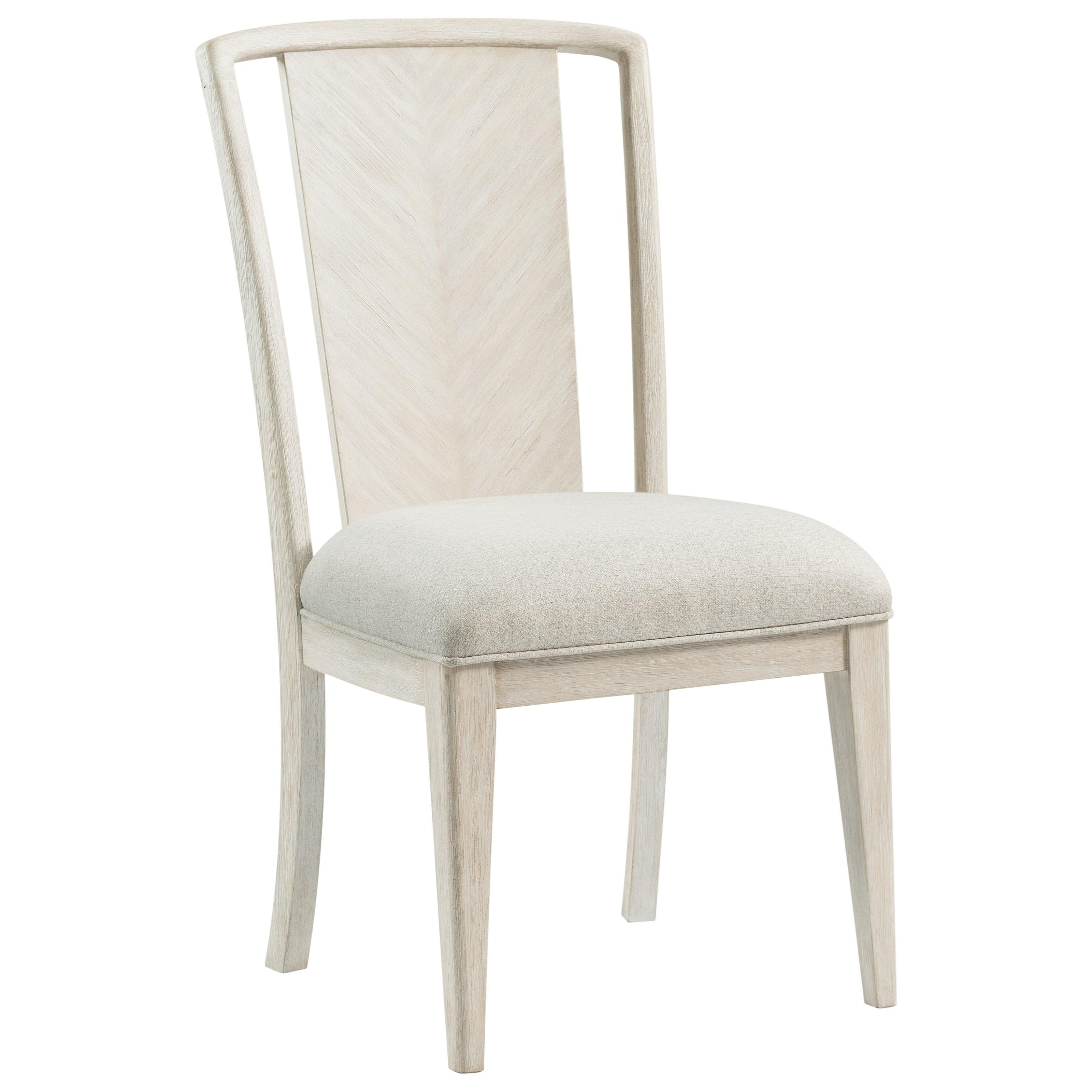 Lilly Upholstered Splat-Back Chair by Riverside Furniture at Baer's Furniture