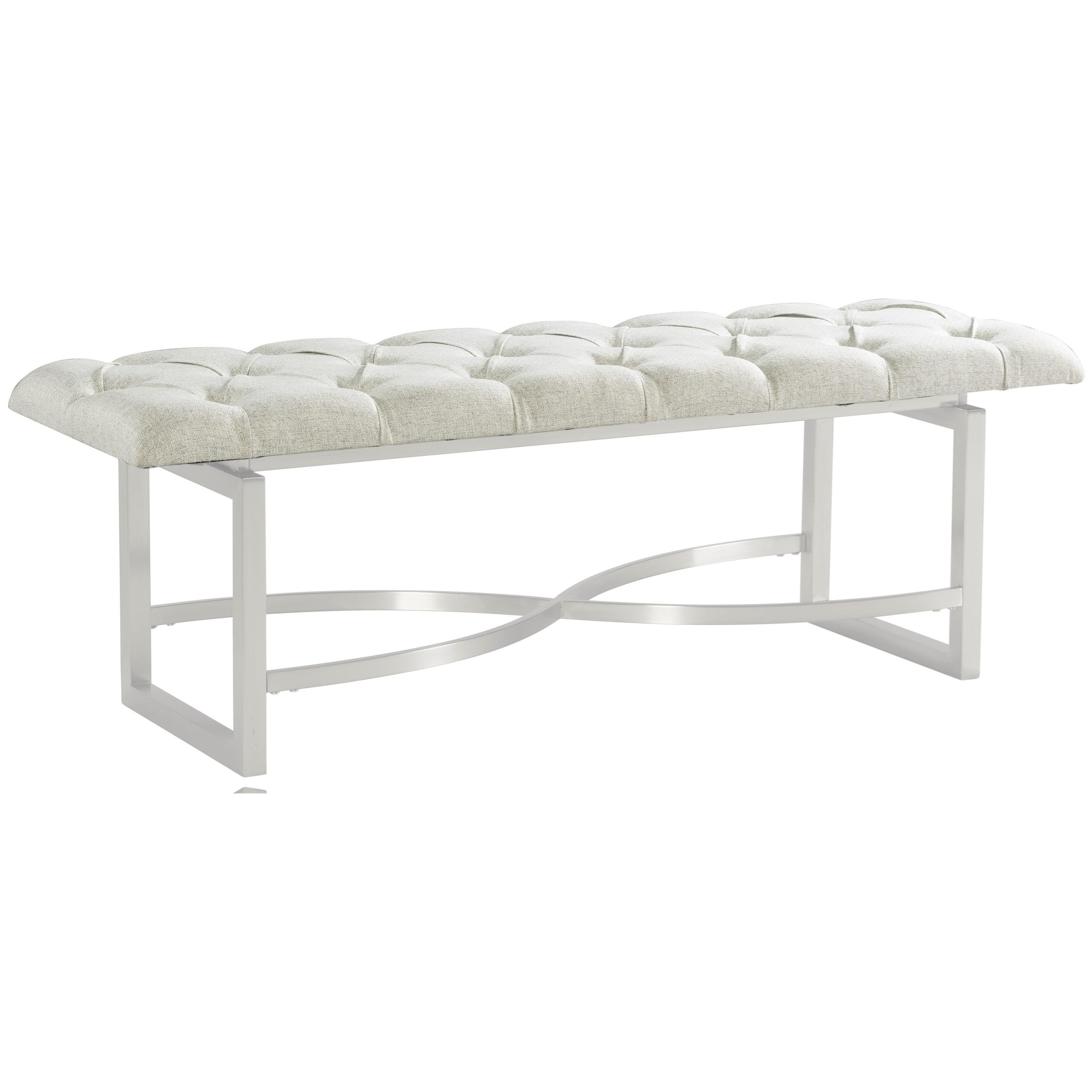 Lilly Upholstered Bed Bench by Riverside Furniture at Baer's Furniture
