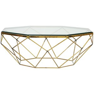 Glamorous Octagon Coffee Table