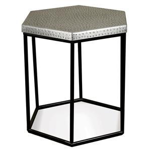 Riverside Furniture Lyric Hexagon Side Table