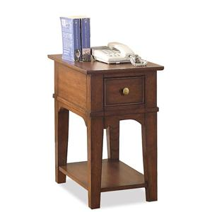 Riverside Furniture Marston Chairside Table