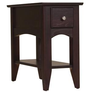 Riverside Furniture Metro II Chairside Table