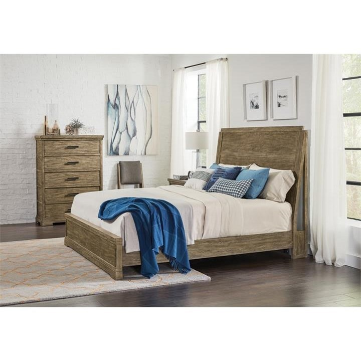 Milton Park Queen Bedroom Group by Riverside Furniture at Zak's Home