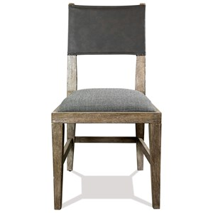Upholstered Seat Side Chair