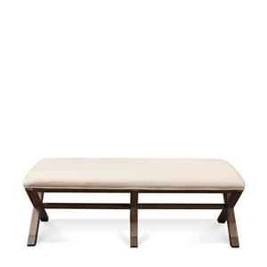 50-Inch Upholstered Bed Bench