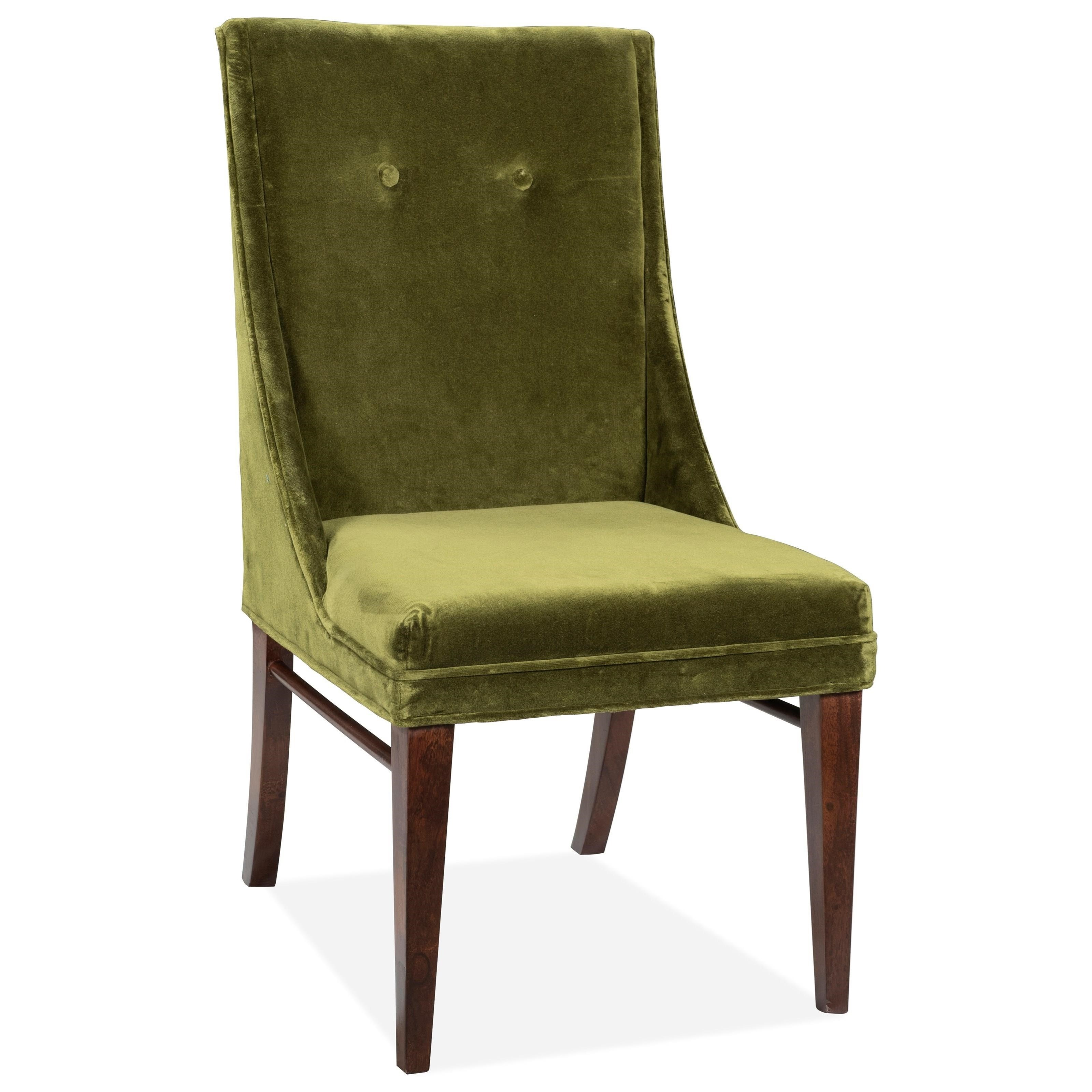 Mix-N-Match Chairs Ivy Velvet Side Chair 2in by Riverside Furniture at Zak's Home