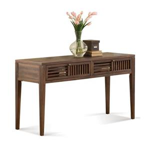 Riverside Furniture Modern Gatherings Open Slat Sofa Table