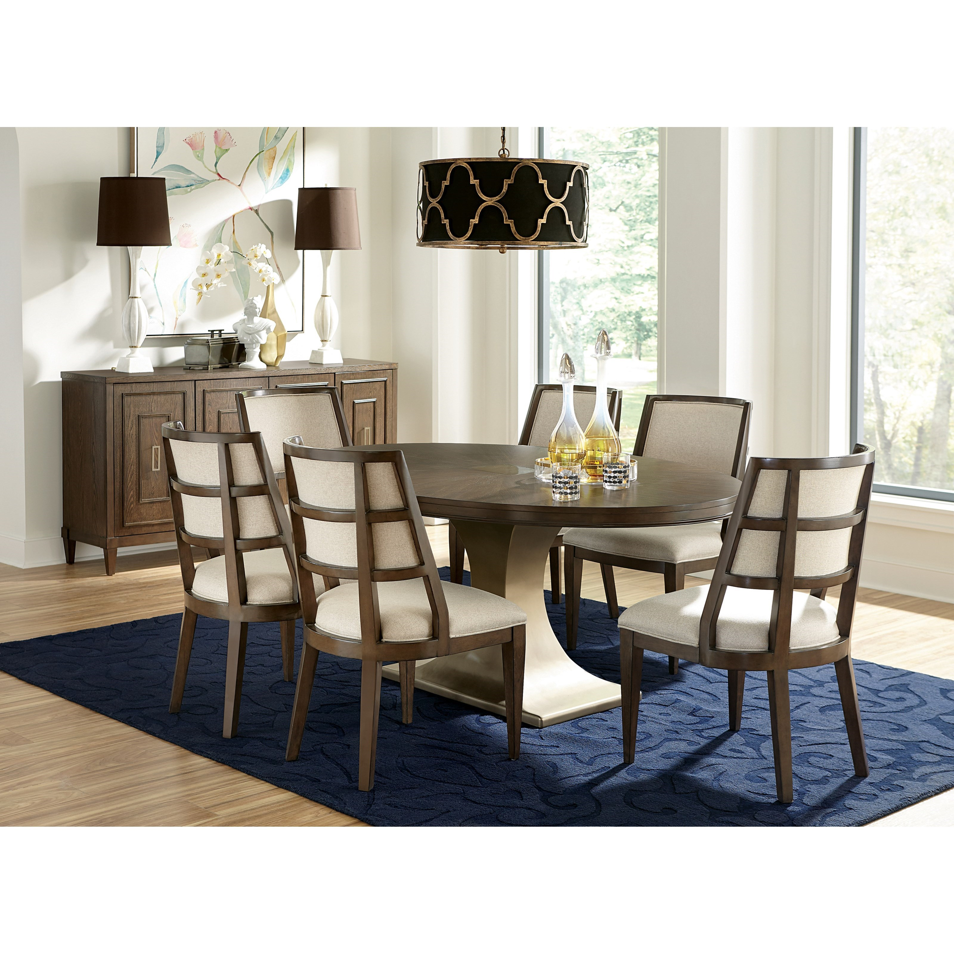 Monterey Dining Room Group by Riverside Furniture at Mueller Furniture