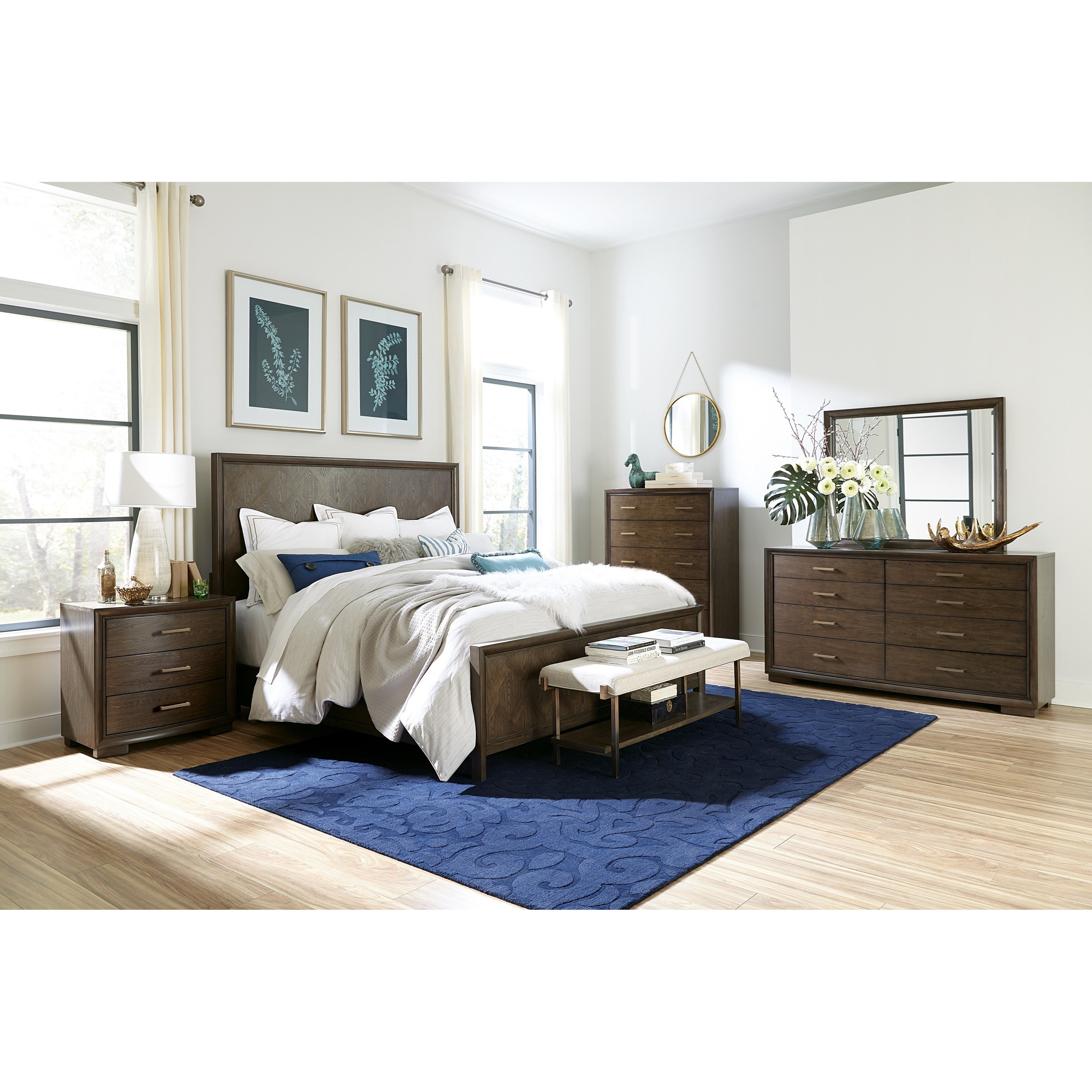 Monterey Queen Bedroom Group by Riverside Furniture at Zak's Home