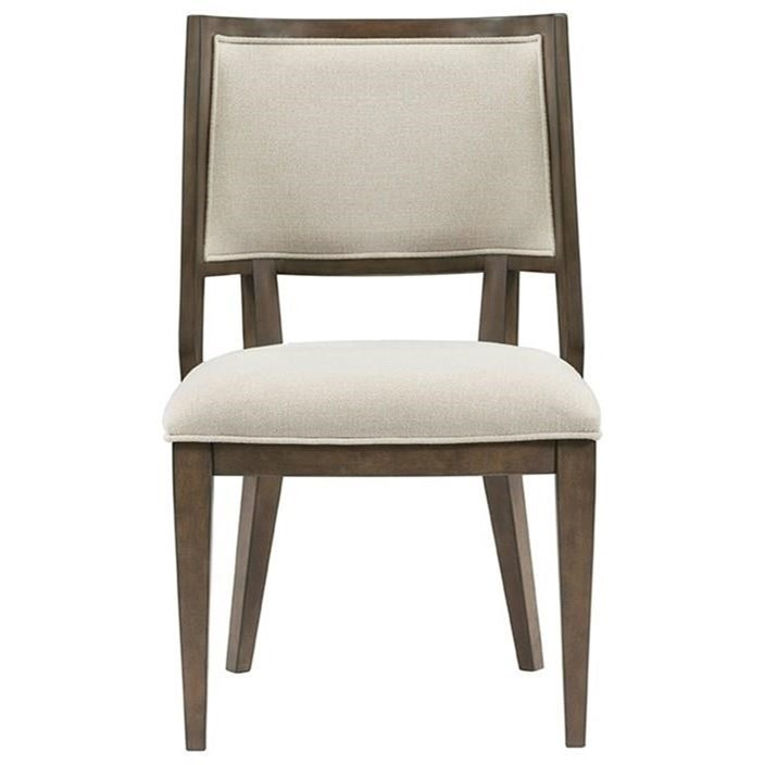 Monterey Upholstered Hostess Chair by Riverside Furniture at Zak's Home