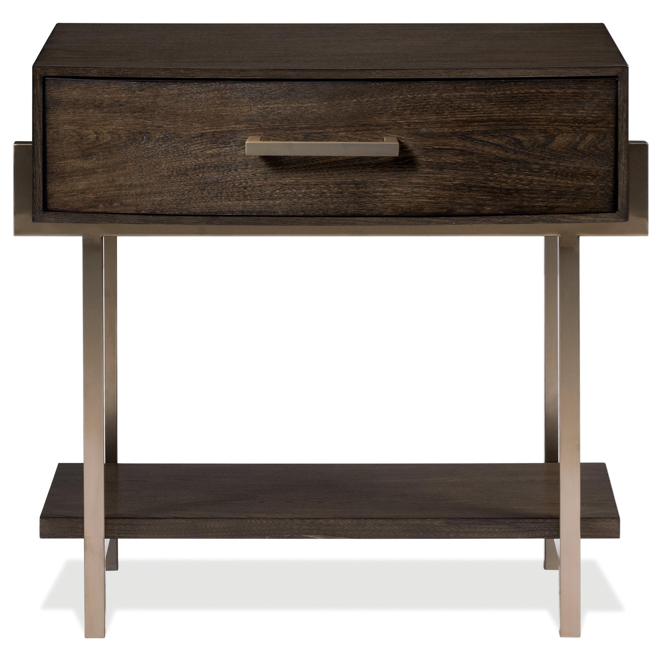 Monterey 1-Drawer Nightstand by Riverside Furniture at Zak's Home