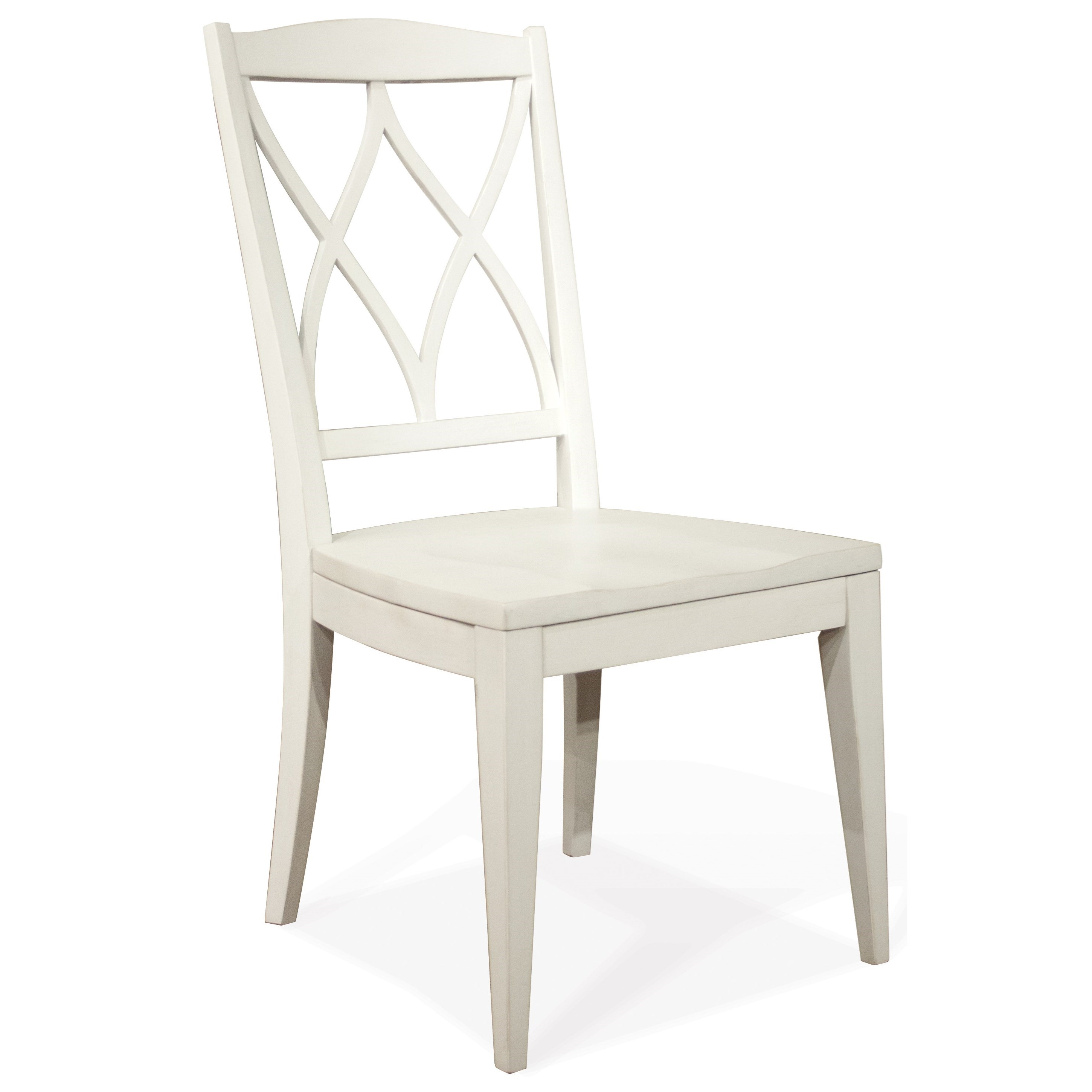Myra XX-Back Side Chair by Riverside Furniture at Johnny Janosik
